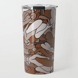 Chocolate Coffee Body Slugs Travel Mug