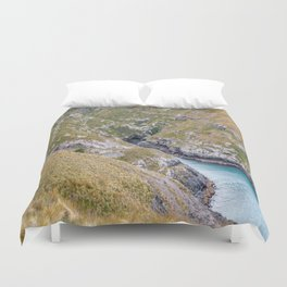 Haylocks Bay, Akaroa, New Zealand Duvet Cover