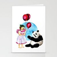 balloons Stationery Cards featuring Balloons by Anna Shell