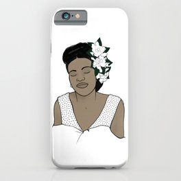 Billie Holiday / Lady Day iPhone Case