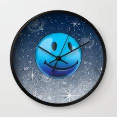 Sparkle Night Wall Clock