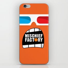 Mischief Factory iPhone Skin