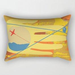 Hello Global Rectangular Pillow