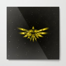 Zelda - Triforce Metal Print