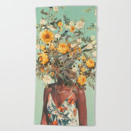 You Loved me a Thousand Summers ago Beach Towel