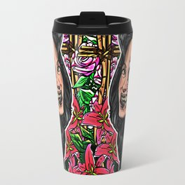 BEAUTIFUL AND FLOWERS Travel Mug