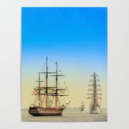 Sail Boston - Oliver Hazard Perry Poster