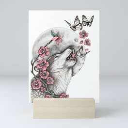 Call Of The Wolf Mini Art Print