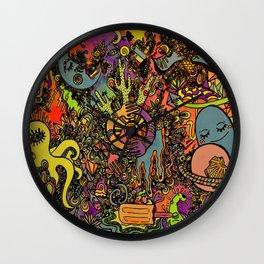 Psychedelic Desert Wall Clock