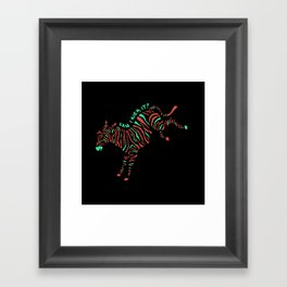 Can I Kick It? Framed Art Print