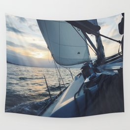 Boat Life Wall Tapestry