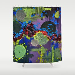 .surfacing {3 of 3}. Shower Curtain