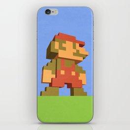 Mario NES nostalgia iPhone Skin