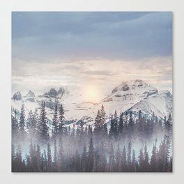 Pastel vibes 16 Canvas Print
