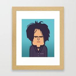Robert Smith (The Cure) 2008 Framed Art Print