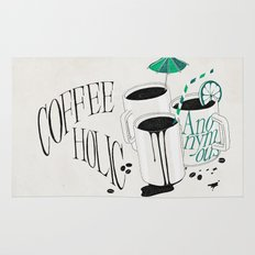 Us And Them: Coffeeholic Anonymous. Rug