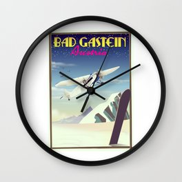 Bad Gastein Austria Wall Clock