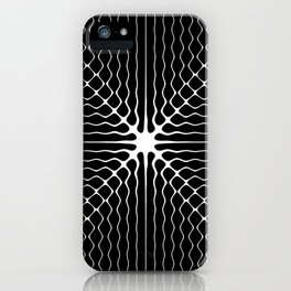 Energy Vibration 6. Frequency - Chladni - Cymatics iPhone Case