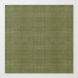 Tissu d'écorce Olive Canvas Print