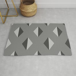 Geometry No. 2 -- Black Rug