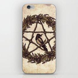 Botanical Pentacle: Wild Witch iPhone Skin