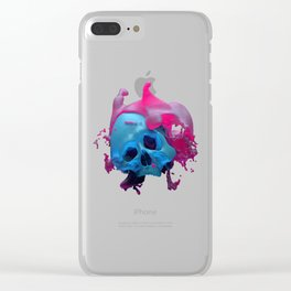 Muffin Blasted. Clear iPhone Case