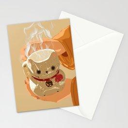 Lunar Cat Stationery Cards