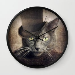 Captain Grey Wall Clock