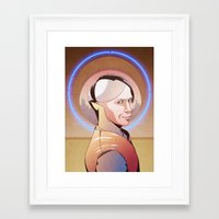 fifth element Framed Art Prints featuring Chaos (Zorg - The Fifth Element) by Pana Stamos
