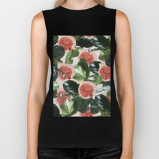 Figs & Leaves #society6 #decor #buyart Biker Tank