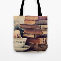 Tote Bags featuring The Best Companions by Tangerine-Tane