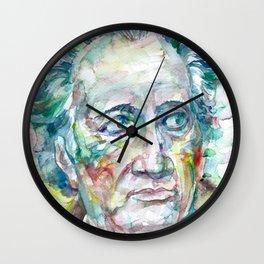 JOHANN WOLFGANG VON GOETHE Wall Clock