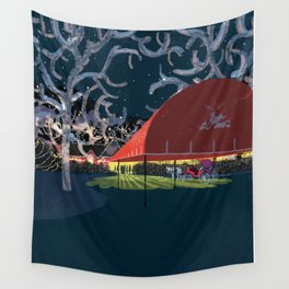 One Night Wall Tapestry