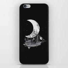 Moon Ship iPhone & iPod Skin
