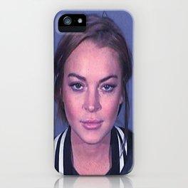 Lindsay 2013 Mugshot **Signatured** iPhone Case