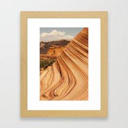 Sands of Time - Desert Formation Framed Art Print