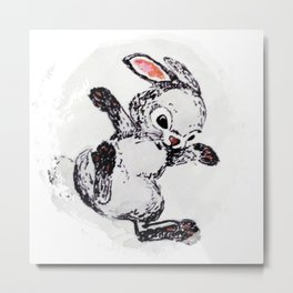 rabbit1 Metal Print