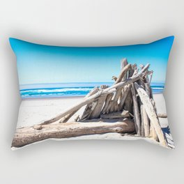 Drift wood Fort Rectangular Pillow
