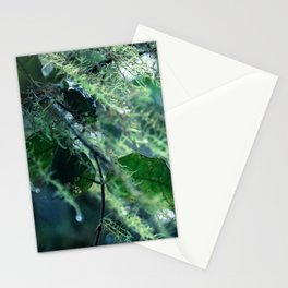 Leaves in Morning Dew Stationery Cards