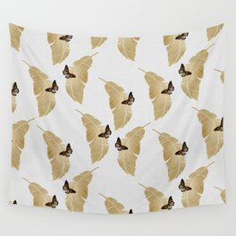 Butterfly & Palm Wall Tapestry