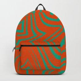 Zebra Grunge 8 Backpack