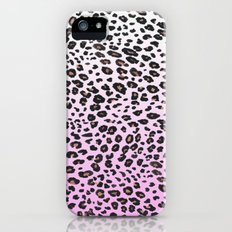 PINK LEOPARD  Slim Case iPhone (5, 5s)