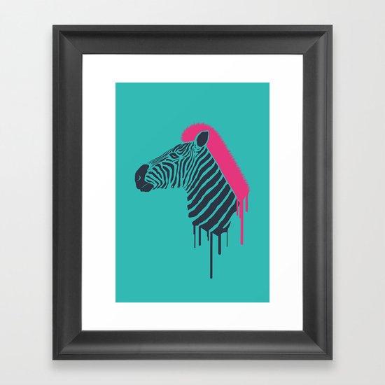 Zebra's Not Dead II Framed Art Print