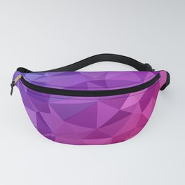 Abstract Geometric Poly #3 Fanny Pack