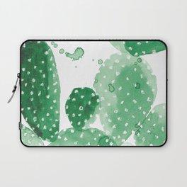 Green Paddle Cactus Laptop Sleeve