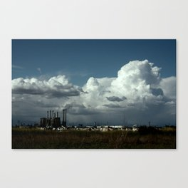 obstructed view Canvas Print