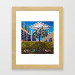 Stock Market Framed Art Print
