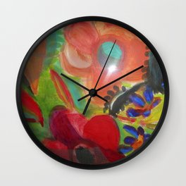 screened in Wall Clock
