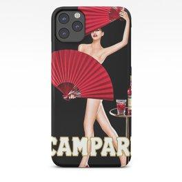 Vintage Bitter Campari Lithograph Advertisement iPhone Case