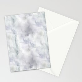 Abstract modern gray lavender watercolor pattern Stationery Cards